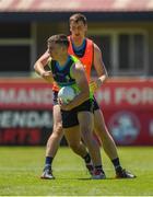 14 November 2017; Sean Powter and Conor Sweeney during Ireland International Rules Squad training at Bendigo Bank Stadium, Mandurah, Australia. Photo by Ray McManus/Sportsfile