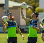 14 November 2017; Niall Sludden and Brendan Harrison during Ireland International Rules Squad training at Bendigo Bank Stadium, Mandurah, Australia. Photo by Ray McManus/Sportsfile