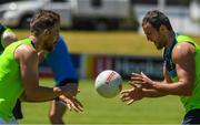 14 November 2017; Zach Tuohy and Michael Murphy during Ireland International Rules Squad training at Bendigo Bank Stadium, Mandurah, Australia. Photo by Ray McManus/Sportsfile