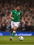 14 November 2017; Cyrus Christie of Republic of Ireland during the FIFA 2018 World Cup Qualifier Play-off 2nd leg match between Republic of Ireland and Denmark at Aviva Stadium in Dublin. Photo by Seb Daly/Sportsfile
