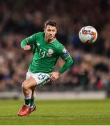 14 November 2017; Wes Hoolahan of Republic of Ireland during the FIFA 2018 World Cup Qualifier Play-off 2nd leg match between Republic of Ireland and Denmark at Aviva Stadium in Dublin. Photo by Seb Daly/Sportsfile