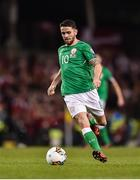 14 November 2017; Robbie Brady of Republic of Ireland during the FIFA 2018 World Cup Qualifier Play-off 2nd leg match between Republic of Ireland and Denmark at Aviva Stadium in Dublin. Photo by Seb Daly/Sportsfile