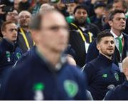 14 November 2017; Shane Long of Republic of Ireland during the FIFA 2018 World Cup Qualifier Play-off 2nd leg match between Republic of Ireland and Denmark at Aviva Stadium in Dublin. Photo by Stephen McCarthy/Sportsfile