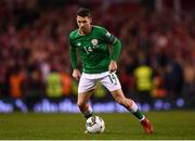 14 November 2017; Wes Hoolahan of Republic of Ireland during the FIFA 2018 World Cup Qualifier Play-off 2nd leg match between Republic of Ireland and Denmark at Aviva Stadium in Dublin. Photo by Stephen McCarthy/Sportsfile