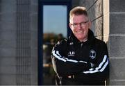 16 November 2017; Fiji head coach John McKee poses for a portait following Fiji Rugby press conference at Blackrock College RFC in Stradbrook Road, Dublin. Photo by Sam Barnes/Sportsfile