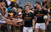 18 November 2017; Paul Murphy, left, and Conor Sweeney of Ireland after the Virgin Australia International Rules Series 2nd test at the Domain Stadium in Perth, Australia. Photo by Ray McManus/Sportsfile