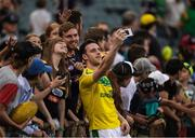 18 November 2017; Niall Morgan of Ireland with supporters after the Virgin Australia International Rules Series 2nd test at the Domain Stadium in Perth, Australia. Photo by Ray McManus/Sportsfile
