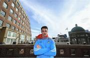 18 November 2017; Danny Sutcliffe of Dublin poses for a portrait ahead of the AIG Super 11's Fenway Classic Semi-Final match matches in Boston, MA, USA. Photo by Brendan Moran/Sportsfile