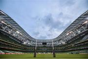 18 November 2017; A general view of the Aviva Stadium prior to the Guinness Series International match between Ireland and Fiji at the Aviva Stadium in Dublin. Photo by Seb Daly/Sportsfile