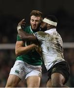 18 November 2017; Stuart McCloskey of Ireland is tackled by Levani Botia of Fiji during the Guinness Series International match between Ireland and Fiji at the Aviva Stadium in Dublin. Photo by Eóin Noonan/Sportsfile
