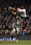 18 November 2017; Andrew Conway of Ireland in action against Timoci Nagusa of Fiji during the Guinness Series International match between Ireland and Fiji at the Aviva Stadium in Dublin. Photo by Seb Daly/Sportsfile