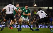 18 November 2017; Jack Conan of Ireland in action against Campese Ma'afu, left, and Apisalome Ratuniyarawa of Fiji during the Guinness Series International match between Ireland and Fiji at the Aviva Stadium in Dublin. Photo by Sam Barnes/Sportsfile