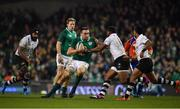 18 November 2017; Jack Conan of Ireland is tackled by Timoci Nagusa of Fiji during the Guinness Series International match between Ireland and Fiji at the Aviva Stadium in Dublin. Photo by Sam Barnes/Sportsfile