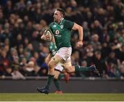 18 November 2017; Jack Conan of Ireland on his way to scoring his side's third try during the Guinness Series International match between Ireland and Fiji at the Aviva Stadium in Dublin. Photo by Seb Daly/Sportsfile