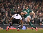 18 November 2017; Stuart McCloskey of Ireland in action against Henry Seniloli of Fiji during the Guinness Series International match between Ireland and Fiji at the Aviva Stadium in Dublin. Photo by Seb Daly/Sportsfile