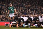 18 November 2017; Stuart McCloskey of Ireland during the Guinness Series International match between Ireland and Fiji at the Aviva Stadium in Dublin. Photo by Seb Daly/Sportsfile