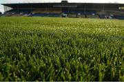 19 November 2017; A detailed view of the wet pitch before the AIB Munster GAA Hurling Senior Club Championship Final match between Na Piarsaigh and Ballygunner at Semple Stadium in Thurles, Co Tipperary. Photo by Piaras Ó Mídheach/Sportsfile