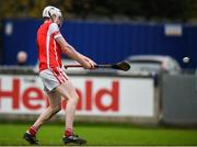 19 November 2017; Colm Cronin of Cuala scores his side's third goal during the AIB Leinster GAA Hurling Senior Club Championship Semi-Final match between Cuala and St Martin's GAA Club at Parnell Park in Dublin. Photo by Cody Glenn/Sportsfile