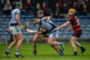 19 November 2017; Niall Buckley of Na Piarsaigh supported by team-mate Ronan Lynch, left, in action against Pauric Mahony and Peter Hogan, right, of Ballygunner during the AIB Munster GAA Hurling Senior Club Championship Final match between Na Piarsaigh and Ballygunner at Semple Stadium in Thurles, Co Tipperary. Photo by Piaras Ó Mídheach/Sportsfile