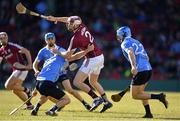 19 November 2017; Cathal Mannion of Galway in action against Paul Winters, left, and Niall McMorrow of Dublin during the AIG Super 11's Fenway Classic Semi-Final match between Dublin and Galway at Fenway Park in Boston, MA, USA. Photo by Brendan Moran/Sportsfile