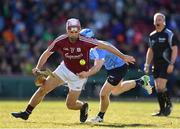19 November 2017; Johnny Coen of Galway is tackled by Stephen O'Connor of Dublin during the AIG Super 11's Fenway Classic Semi-Final match between Dublin and Galway at Fenway Park in Boston, MA, USA. Photo by Brendan Moran/Sportsfile