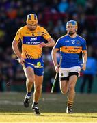 19 November 2017; Cathal Malone of Clare in action against John McGrath of Tipperary during the AIG Super 11's Fenway Classic Semi-Final match between Clare and Tipperary at Fenway Park in Boston, MA, USA. Photo by Brendan Moran/Sportsfile