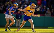 19 November 2017; Shane O'Donnell of Clare in action against Alan Flynn of Tipperary during the AIG Super 11's Fenway Classic Semi-Final match between Clare and Tipperary at Fenway Park in Boston, MA, USA. Photo by Brendan Moran/Sportsfile