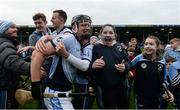 19 November 2017; Kevin Downes of Na Piarsaigh celebrates after the AIB Munster GAA Hurling Senior Club Championship Final match between Na Piarsaigh and Ballygunner at Semple Stadium in Thurles, Co Tipperary. Photo by Piaras Ó Mídheach/Sportsfile