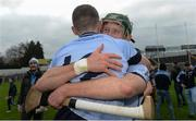 19 November 2017; William O'Donoghue of Na Piarsaigh, behind, celebrates with team-mate David Dempsey after the AIB Munster GAA Hurling Senior Club Championship Final match between Na Piarsaigh and Ballygunner at Semple Stadium in Thurles, Co Tipperary. Photo by Piaras Ó Mídheach/Sportsfile