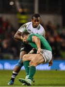 18 November 2017; Kini Murimurivalu of Fiji in action against Dave Kearney of Ireland during the Guinness Series International match between Ireland and Fiji at the Aviva Stadium in Dublin. Photo by Sam Barnes/Sportsfile