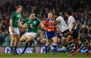 18 November 2017; Jack Conan of Ireland in action against Timoci Nagusa of Fiji during the Guinness Series International match between Ireland and Fiji at the Aviva Stadium in Dublin. Photo by Sam Barnes/Sportsfile