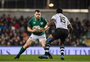 18 November 2017; Cian Healy of Ireland in action against Kini Murimurivalu of Fiji during the Guinness Series International match between Ireland and Fiji at the Aviva Stadium in Dublin. Photo by Sam Barnes/Sportsfile