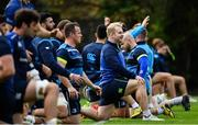 20 November 2017; Jeremy Loughman during Leinster rugby squad training at Leinster Rugby Headquarters in Dublin. Photo by Ramsey Cardy/Sportsfile
