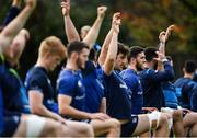 20 November 2017; Josh Murphy during Leinster rugby squad training at Leinster Rugby Headquarters in Dublin. Photo by Ramsey Cardy/Sportsfile