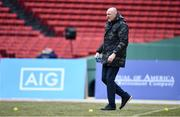 19 November 2017; Dublin manager Pat Gilroy during the AIG Super 11's Fenway Classic Semi-Final match between Dublin and Galway at Fenway Park in Boston, MA, USA. Photo by Brendan Moran/Sportsfile