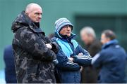 19 November 2017; Dublin manager Pat Gilroy, left, with selector Mickey Whelan during the AIG Super 11's Fenway Classic Semi-Final match between Dublin and Galway at Fenway Park in Boston, MA, USA. Photo by Brendan Moran/Sportsfile