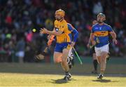 19 November 2017; David McInerney of Clare in action against John O'Dwyer of Tipperary during the AIG Super 11's Fenway Classic Semi-Final match between Clare and Tipperary at Fenway Park in Boston, MA, USA. Photo by Brendan Moran/Sportsfile