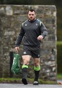 21 November 2017; Cian Healy arrives prior to Ireland rugby squad training at Carton House in Maynooth, Co Kildare. Photo by Seb Daly/Sportsfile