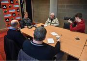21 November 2017; Munster scrum coach Jerry Flannery speaks to reporters during a Munster Rugby Press Conference at the University of Limerick in Limerick. Photo by Diarmuid Greene/Sportsfile