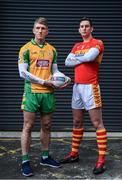 21 November 2017; Corofin's Kieran Fitzgerald is pictured alongside Castlebar Mitchells' Barry Moran ahead of the AIB GAA Connacht Senior Football Club Championship Final on Sunday 26th November. For exclusive content throughout the AIB Club Championships follow @AIB_GAA and facebook.com/AIBGAA. Photo by Sam Barnes/Sportsfile