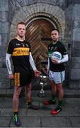 21 November 2017; Nemo Rangers' Paul Kerrigan is pictured alongside Dr Crokes' Johnny Buckley ahead of the AIB GAA Munster Senior Football Club Championship Final on Sunday, November 26th. For exclusive content throughout the AIB Club Championships follow @AIB_GAA and facebook.com/AIBGAA. Photo by Sam Barnes/Sportsfile