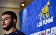 21 November 2017; Enrique Pieretto during an Argentina Rugby press conference at the Conrad Hotel in Dublin. Photo by David Fitzgerald/Sportsfile
