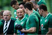 24 November 2017; Rory Best, centre, during Ireland rugby captain's run at the Aviva Stadium in Dublin. Photo by Piaras Ó Mídheach/Sportsfile