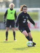 24 November 2017; Roma McLaughlin during a Republic of Ireland training session at the FAI National Training Centre in Abbotstown, Dublin. Photo by Stephen McCarthy/Sportsfile