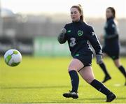 24 November 2017; Aislinn Meaney during a Republic of Ireland training session at the FAI National Training Centre in Abbotstown, Dublin. Photo by Stephen McCarthy/Sportsfile