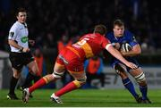 24 November 2017; Jordi Murphy of Leinster is tackled by Matthew Screech of Dragons during the Guinness PRO14 Round 9 match between Leinster and Dragons at the RDS Arena in Dublin. Photo by Ramsey Cardy/Sportsfile