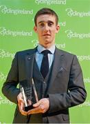 25 November 2017; Eddie Dunbar, winner of a Special Recognition award, during the Cycling Ireland Awards at the Crowne Plaza Hotel, Dublin. Photo by Stephen McMahon/Sportsfile