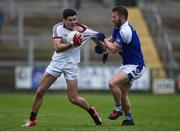26 November 2017; Karl McKaigue of Slaughtneil in action against Michael Lyng of Cavan Gaels during the AIB Ulster GAA Football Senior Club Championship Final match between Slaughtneil and Cavan Gaels at the Athletic Grounds in Armagh. Photo by Philip Fitzpatrick