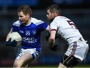 26 November 2017; Declan Meehan of Cavan Gaels in action against Gerald Bradley of Slaughtneil during the AIB Ulster GAA Football Senior Club Championship Final match between Slaughtneil and Cavan Gaels at the Athletic Grounds in Armagh.