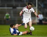 26 November 2017; Gerald Bradley of Slaughtneil in action against Barry Fortune of Cavan Gaels during the AIB Ulster GAA Football Senior Club Championship Final match between Slaughtneil and Cavan Gaels at the Athletic Grounds in Armagh.